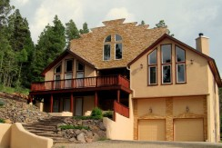 Southwest Style Mountain Home